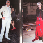 Philip in Japanese magazine STREET with Agyness Deyn.